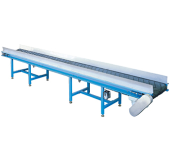 Horizontal Rubber conveyor